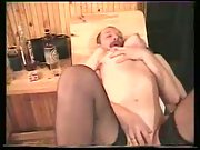 Alina in sauna luving threesome bang-out with her spouse and his friend