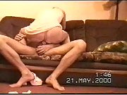 Horny couple making their first fuckfest film, enjoying some good blowjob and hard fucking