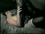 Hubbys sloppy seconds after ebony guy internal ejaculation